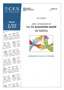 CES Galicia - Ditame sobre o anteproxecto de lei de economía social de Galicia
