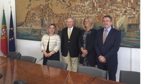 Firma en Lisboa