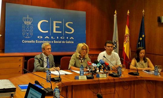 CES Galicia - Presentacion Memoria 2014