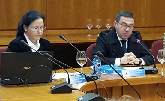 Arantza López de Munain fala da RTA no CES-Galicia