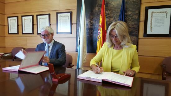 CES Galicia-convenio coa Universidade da Coruña