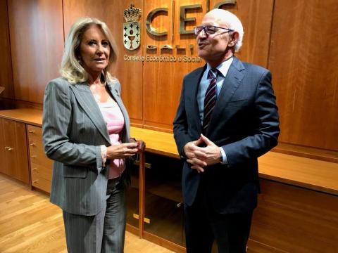 Corina Porro e Fernando Suanzes