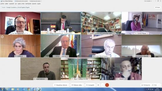 reunión CES España