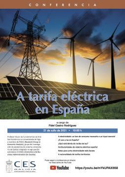 conferencia tarifa eléctrica