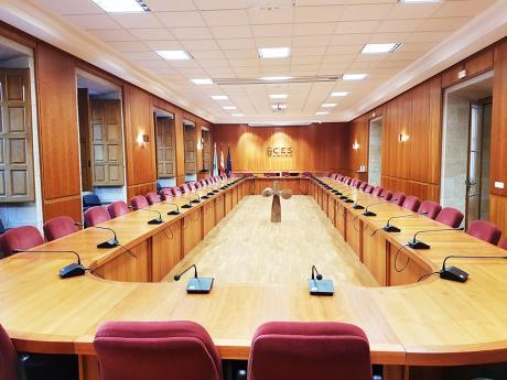 Sala do Pleno do CES